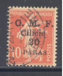 Cilicia # 121 used (DT)