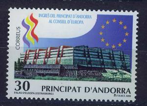 ANDORRA SPANISH 1995 MNH SC.236 Entrance Council of Europe