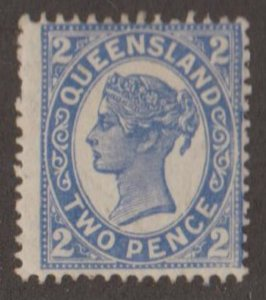 Queensland - Australia Scott #129 Stamp - Mint Single