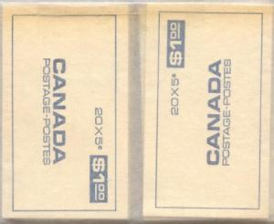 Canada - 1968 5c Perf 10 in 10 Complete Booklets #BK58a