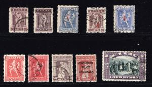 GREECE STAMP OLD USED STAMPS COLLECTION LOT