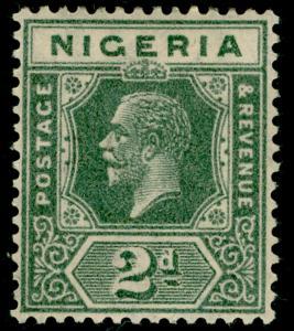 NIGERIA SG18, 2d grey, M MINT. Cat £10.