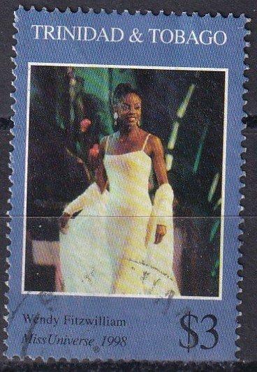 Trinidad  & Tobago #596  F-VF Used  CV $3.00  (Z1586)
