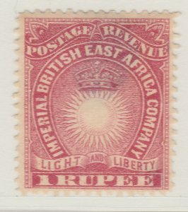 British Colony East Africa KUT 1890 1r MH* Stamp A22P18F8911