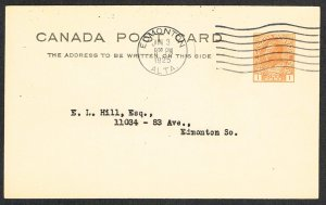 Canada Postal Card Webb P50