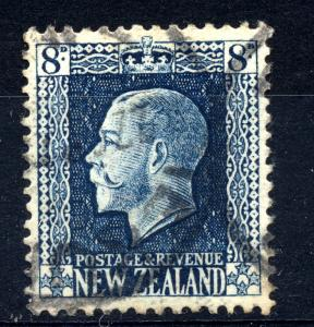 New Zealand 1915 sg 427 8d blue fine used