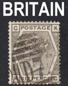 Great Britain Scott 62 plate 15  F+  used.