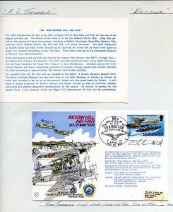 AD35 Biggin Hill Air Fair Signed by Designer Tony Theobald