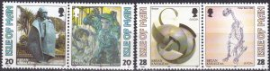 Isle Of Man #558-61 MNH CV $3.00 (S10117)