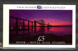 Great Britain Scott BK153 Mint NH booklet