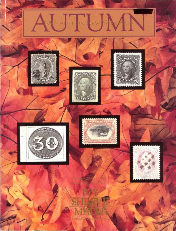 Ivy, Shreve & Mader: Sale #   -  The 1993 Autumn Sale, Iv...