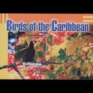ST.VINCENT-BEQUIA 2003 - Scott# 327 S/S Birds NH
