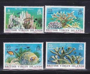 Virgin Islands 333-336 Set MNH Coral