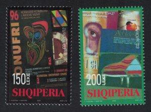 Albania Poster Act Europa CEPT 2v 2003 MNH SG#2960-2961 MI#2928-2929