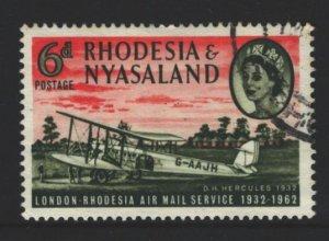 Rhodesia and Nyasaland Sc#180 Used