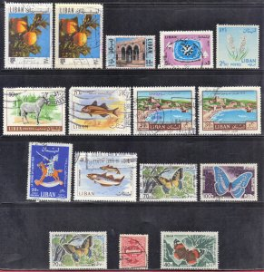 LEBANON STAMP  LOT #2    SEE SCAN