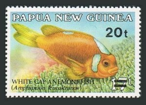 Papua New Guinea MNH 720 Fish Revalued 1989