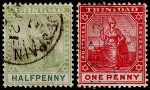 Trinidad Scott 92, 103 (1904-07) Used F M