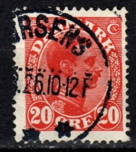 Denmark #105 F-VF Used  (V5432)