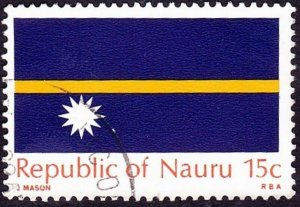 NAURU 1969 15c Yellow, Orange & Royal-Blue SG96 FU