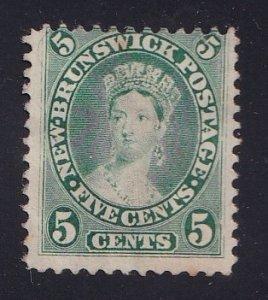 Canada  New Brunswick   #8 used  1860  Queen Victoria  5c
