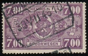 Belgium#Q255 - Parcel Post & Railway Stamps - Used