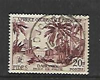 FRENCH WEST AFRICA, 71, USED, FIDES ISSUE