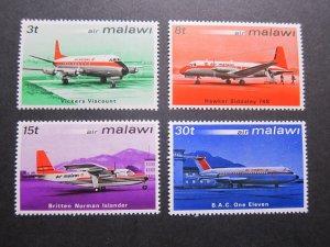 Malawi 1972 Sc 182-185 set MNH