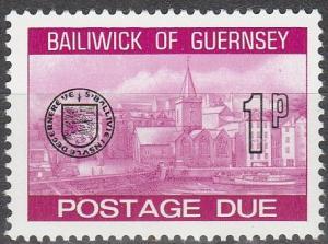 Guernsey #J19 MNH (S9400)