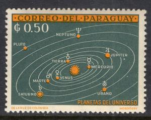 Paraguay 732 Space MNH VF