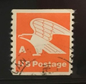 US #1743 Used Coil F/VF - Eagle A Stamp