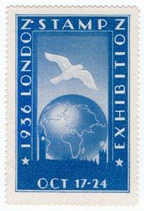 (I.B) Cinderella Collection : London Stamp Exhibition (1936)
