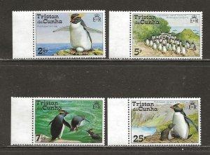 Tristan Da Cunha Scott catalog # 191-194 Mint NH