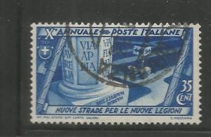 ITALY, 296, U, FASCIST GOVERNMENT