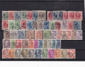 denmark used  stamps   ref 7990