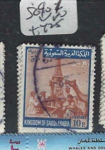 SAUDI ARABIA (P2506B) SG 901    VFU