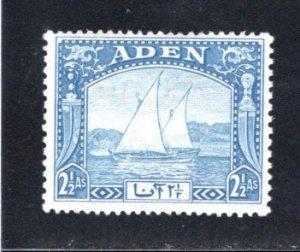 Aden #5  MH, CV $6.75   .....   0020078