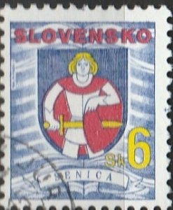 Slovakia, #248  Used , From 1996,  CV-$0.35