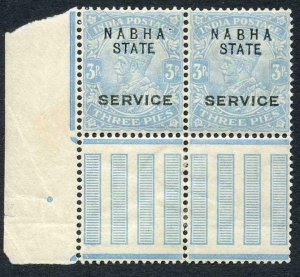 Nabha Service SGO39a 3p Grey COLOUR CHANGELING looks Blue M/M