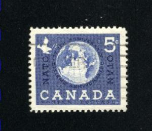Canada  384  -2   used VF PD 1959