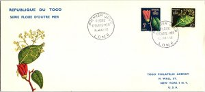 Togo, Plants, Worldwide First Day Cover