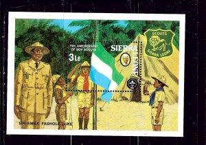 Sierra Leone 539 MNH 1982 Boy Scouts