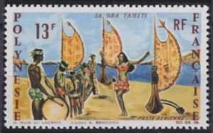 French Polynesia C44 MNH (1966)