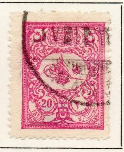 Turkey 1901 Early Issue Fine Used 20p. 049370