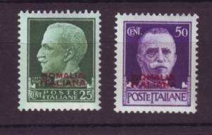 J19963  Jlstamps 1931 somalia set mnh #136-7 ovpt