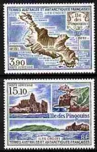 French Southern & Antarctic Territories 1988 Penguin ...