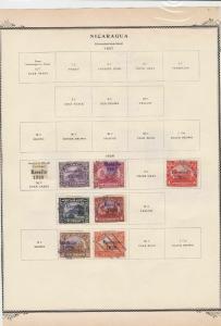 nicaragua stamps page ref 17096