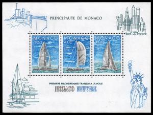 Monaco Scott 1486 (1985) Mint NH VF B