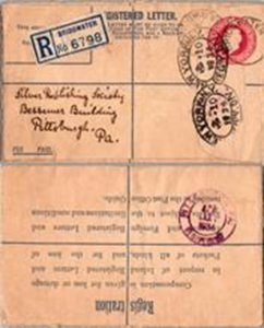 Great Britain, Registered, Worldwide Postal Stationary