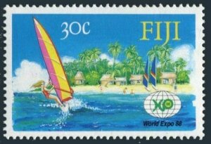 Fiji 583,MNH.Michel 577. EXPO BRISBANE-1988.Windsurfing.